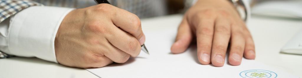 Documenten ondertekenen