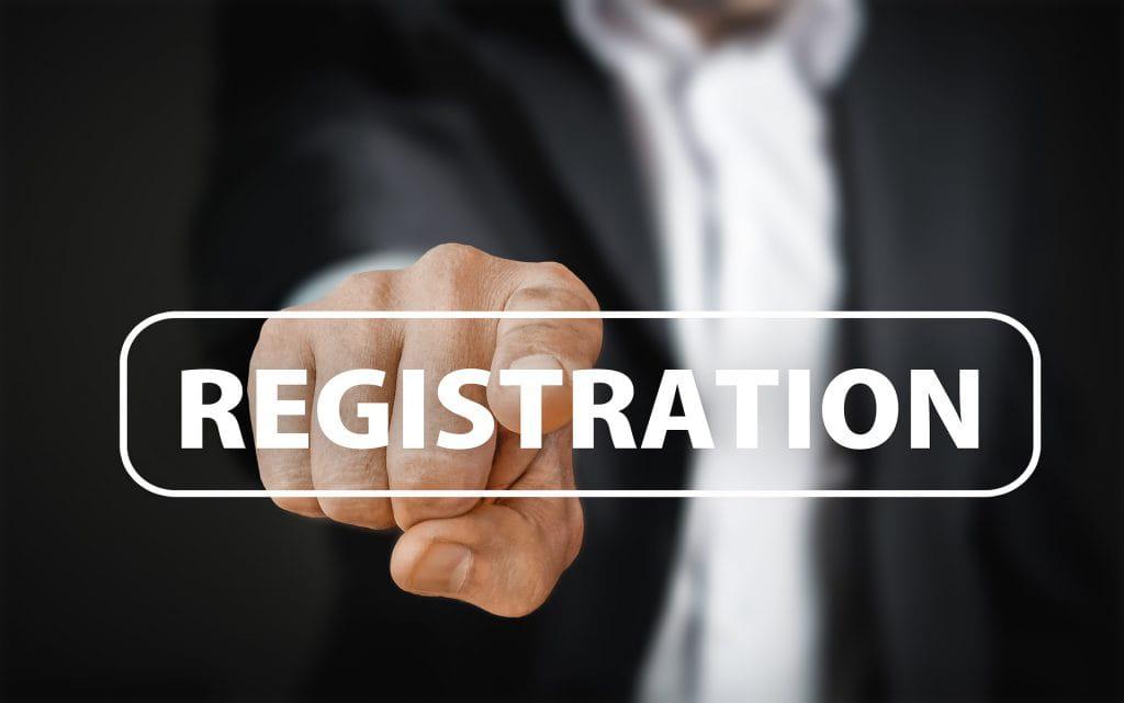 Registratieverplichting e-mail