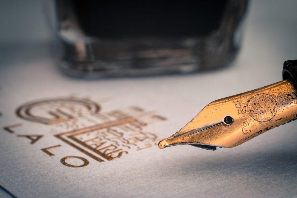Onderhoud en gebruik van briefpapier